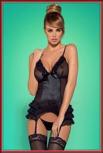 Корсет Obsessive OBS16-033 Blackbella corset