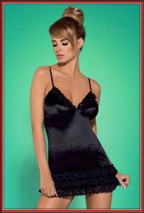 Сорочка Obsessive OBS16-032 Blackbella chemise