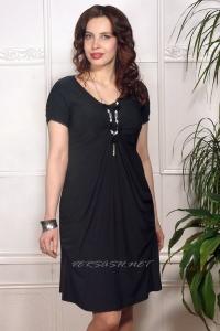 Платье из шелкового трикотажного джерси