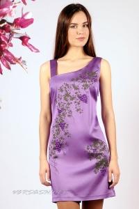 Платье нарядное с бретелью на одно плечо IM-Арт.1235