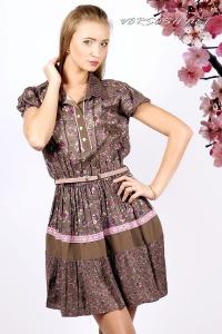 Платье с цветочным принтом IM-Арт.091211449-3