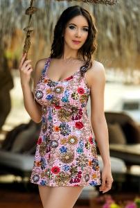 Платье-купальник Loida Dress 18-87